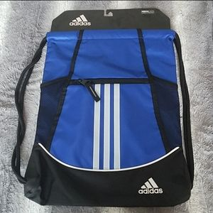 Adidas drawstring bag NWT